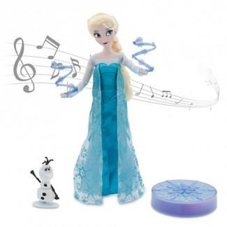 Холодное сердце кукла Эльза музыкальная
