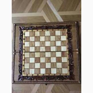 Шахматы-нарды, два в одном