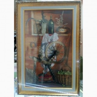 Продам картину ручной работы вышивка крестом