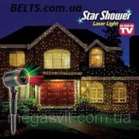Лазерный проектор для дома и двор Star Shower Laser Light