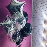 Подарок девушке на день рождения заказать шарики Киев, подарок для любимой жены