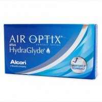 Продам дешево линзы AIR OPTIX plus HydraGlyde (оптическая сила +2)