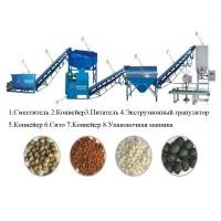 Оборудование для переработки и гранулирования навоза, помета, сапропеля и пищевых отходов