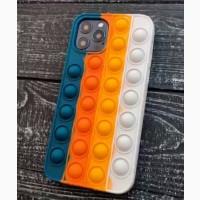 Чехол поп-ит POP IT с брелком для iPhone Xr iPhone 11/11 Pro Max