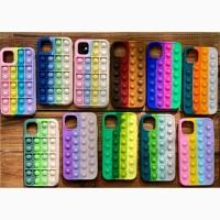 Чехол поп-ит POP IT for для iPhone 6/6s 7/8 iPhone 7+/8+ iPhone Xr iPhone 11/11 Pro 12 /10