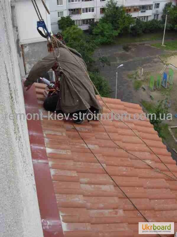 """Крыша на балкон. монтаж, ремонт, демонтаж. киев: """"ремонт-кие."""