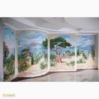 Роспись стен и мебели в Киеве