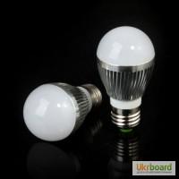Светодиодная лампа E27 6W 600 Lm LED 85-265
