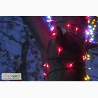 Светодиодная нить, уличные гирлянды, новогодняя подсветка