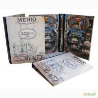 Папки меню, счетницы, винные карты купить, изготовление папок Киев (Украина)