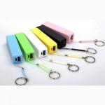 Зарядка Power Bank Мини повербанк 2600 мА для любых USB гаджетов iPhone, Android