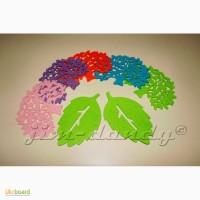 Дерево, лист из фетра/войлока, заготовки из фетра