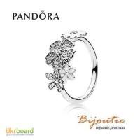 PANDORA кольцо цветочное настроение 190984CZ