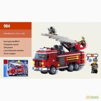 Конструктор Brick Пожарная тревога 364 дет. 6лет, 904