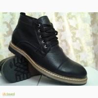 Мужские зимние ботинки на шнурках FARO СКИДКА
