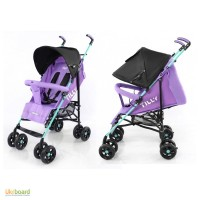 Коляска прогулочная TILLY Smart, фиолетовая