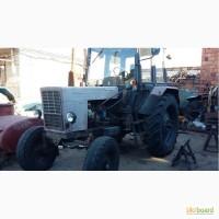 Трактор МТЗ-80 с большой кабиной