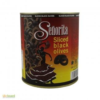 Маслины Senorita резаные, 3кг