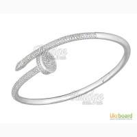Серебряные браслеты Cartier и Tiffany Co