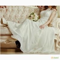 Свадебное платье, размер S, ОГ 83 см, ОТ 68 см. Рост 156+14 см