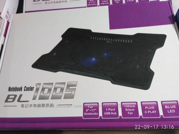 Фото 10. Подставка для ноутбука кулер Cooler до 17, 4 дюйма Подставка для ноутбука кулер с подсветк