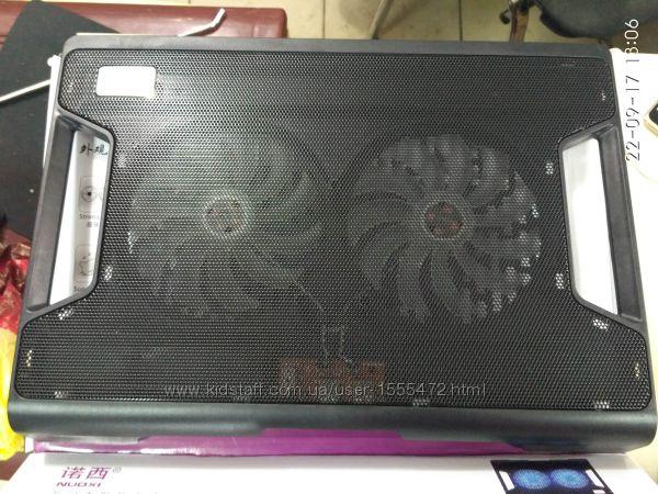 Фото 13. Подставка для ноутбука кулер Cooler до 17, 4 дюйма Подставка для ноутбука кулер с подсветк