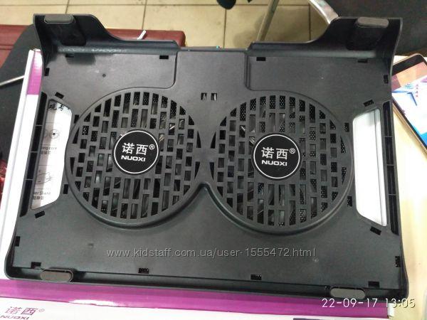 Фото 14. Подставка для ноутбука кулер Cooler до 17, 4 дюйма Подставка для ноутбука кулер с подсветк