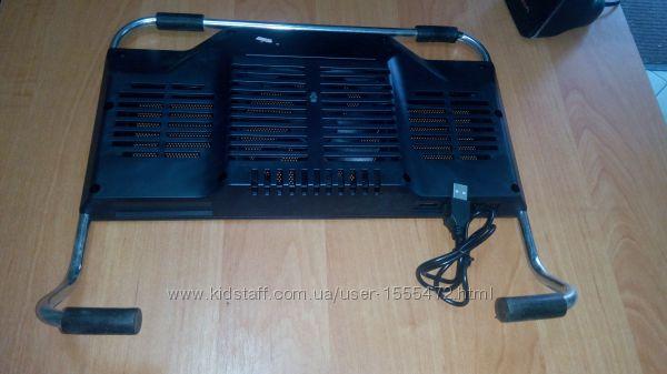 Фото 16. Подставка для ноутбука кулер Cooler до 17, 4 дюйма Подставка для ноутбука кулер с подсветк
