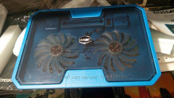 Фото 17. Подставка для ноутбука кулер Cooler до 17, 4 дюйма Подставка для ноутбука кулер с подсветк