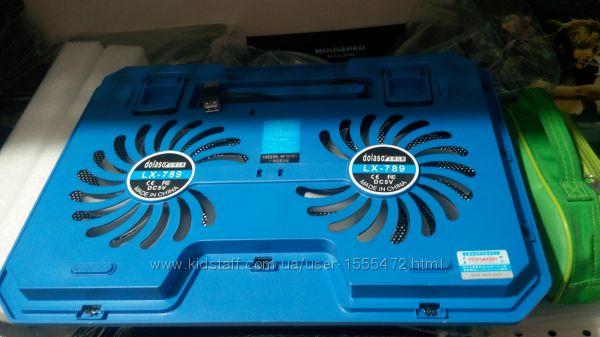 Фото 18. Подставка для ноутбука кулер Cooler до 17, 4 дюйма Подставка для ноутбука кулер с подсветк