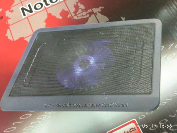 Фото 3. Подставка для ноутбука кулер Cooler до 17, 4 дюйма Подставка для ноутбука кулер с подсветк