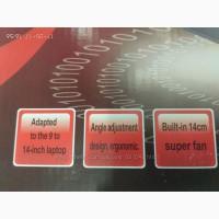 Подставка для ноутбука кулер Cooler до 17, 4 дюйма Подставка для ноутбука кулер с подсветк