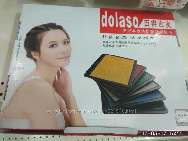 Фото 5. Подставка для ноутбука кулер Cooler до 17, 4 дюйма Подставка для ноутбука кулер с подсветк