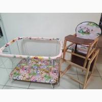 Сенсация! Комплект новый: манеж + стул трансформер! Качество