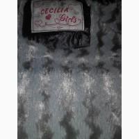Теплое непромокающее пальтишко(CECILIA girls)
