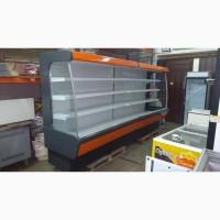 Холодильная горка Arneg линия 4 м. бу., купить регал бу