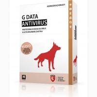 G Data AntiVirus 1 год 10 ПК, Электронная лицензия