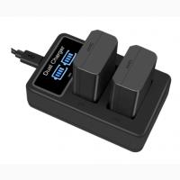 USB двойная зарядка дисплеем NP-FW50 A6500 A6300 A6000 NEX5 A65