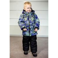 Детские зимние тёплые комбинезоны Стиль для мальчиков 2-5 лет, цвета разные