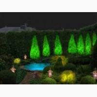 Ландшафтное освещение. Освещение территории