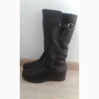 Женские кожаные сапоги р40, стелька 26, 5 см