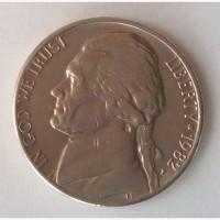 Монета Соединённые Штаты Америки 5 центов 1982