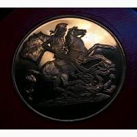 Англия медаль Аббатство Баттл дм 38 мм. СПЕЦКАПСУЛА