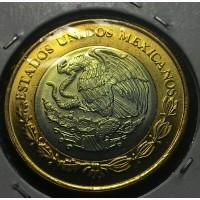 Мексика 10 песо 2016 год UNC!!!! ОТЛИЧНАЯ