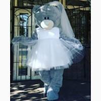 Ростовая кукла Мишка тедди невеста изготовление на заказ