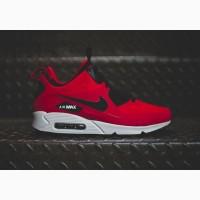 Кроссовки Nike Air Max 90 Winter Gym Mid Red мужские красные