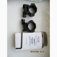 Кольца крепление на вивер для оптики низкие 12мм на 25, 4 -200 грн