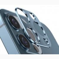 Титановое стекло на камеру айфон 12 промакс titanium alloy iPhone 12 Pro / 12 Pro Max З