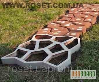 Изготовления формы для садовых дорожек своими руками