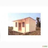 Домик 5 на 3.75м, веранда, кухня, комната, сан. узел